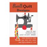 Quilting Textile Artist Full Colour Flyer