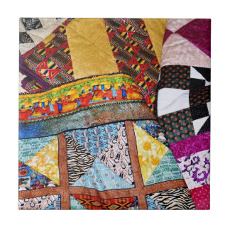 Quilts and Quilting Small Square Tile