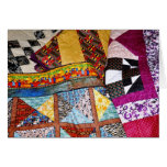 Quilts Customisable Greeting Card