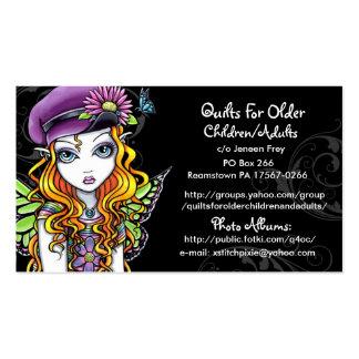 Quilts For Older Children/Adults Custom Order Pack Of Standard Business Cards