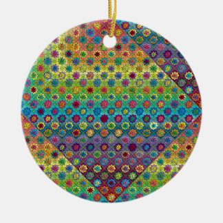 Quilty as Charged Christmas Ornament
