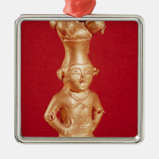 Quimbaya container in the form christmas ornament