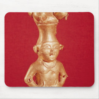 Quimbaya container in the form mouse mat
