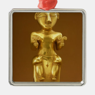 Quimbaya lime flask, from Colombia Christmas Ornament