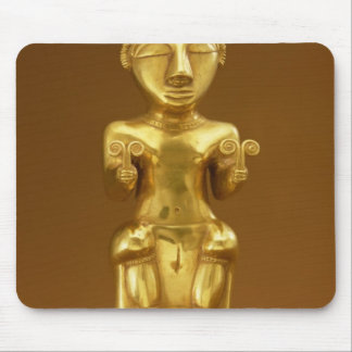 Quimbaya lime flask, from Colombia Mouse Mat