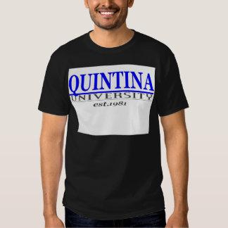 quin. univ t shirts