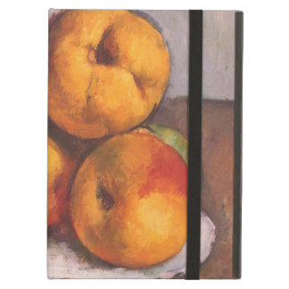 Quince, Apples and Pears by Paul Cezanne iPad Air Covers