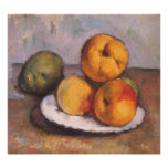Quince, Apples and Pears by Paul Cezanne Poster