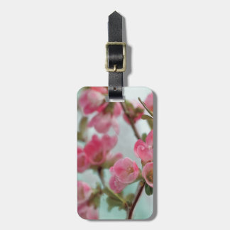 Quince Blossoms Luggage Tag