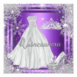 Quinceanera 15th Elite Elegant Birthday Party Invites