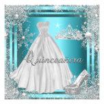 Quinceanera 15th Elite Elegant Birthday Party Custom Invite