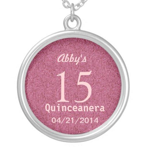 Quinceanera Ideas Silver Necklace