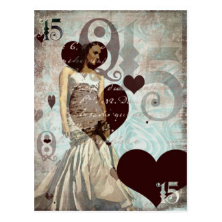 Quinceanera Postcard - Blank