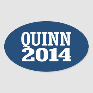 QUINN 2014 OVAL STICKERS