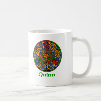Quinn Celtic Knot Coffee Mug