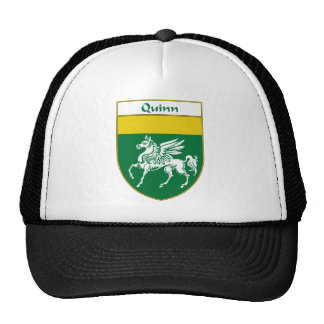 Quinn Coat of Arms Family Crest Hat