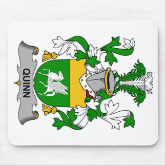 Quinn Family Crest Mouse Pad