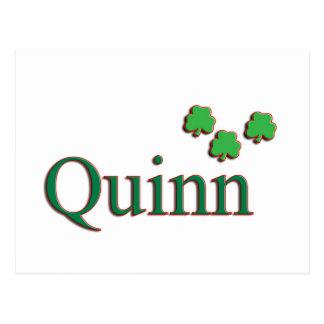 Quinn Family Postcard
