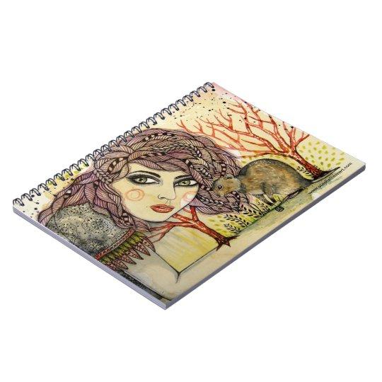 Quinn & Quokka Spiral Notebook