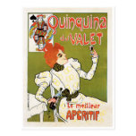 Quinquina Du Valet Le Meilleur Aperitif Drink Ad Post Card