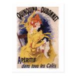 Quinquina Dubonnet Aperitif Promotional Poster Post Card