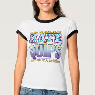 Quips Hate Face T Shirt