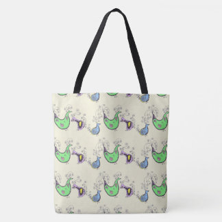 Quirky Birds Tote bag