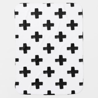 Quirky Crosses Baby Blanket