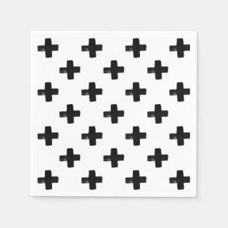 Quirky Crosses Napkins Disposable Napkin