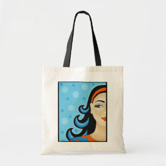 Quirky Dame Tote Bag