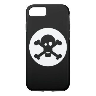 Quirky Death Skull iPhone 7 Case