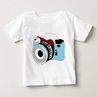 Quirky digital camera illustration baby T-Shirt