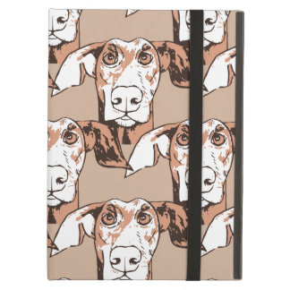 Quirky dog pattern case for iPad air