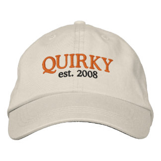 QUIRKY, est. 2008 Embroidered Hat