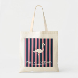 Quirky Explore Flamingo Travel Tote Bag