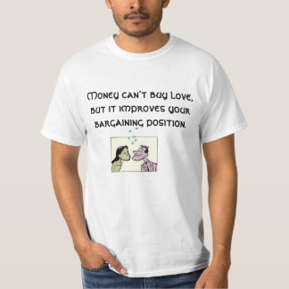 quirky love quoted t-shirt