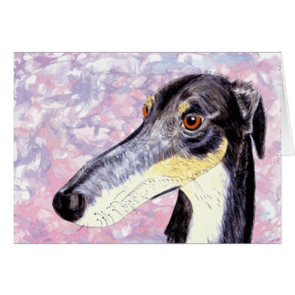 Quirky lurcher card