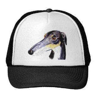 Quirky lurcher dog cap