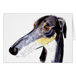 greyhound gift card lurcher gifts gift ideas zazzle uk 3509