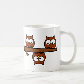 Quirky Owls Coffee Mug