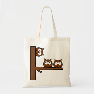 Quirky Owls Round The Bend Bag