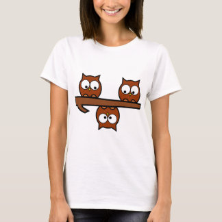 Quirky Owls T-Shirt
