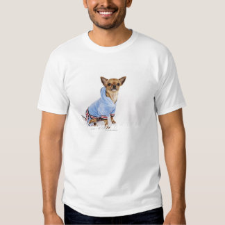 Quirky portrait of a Teacup Chihuahua Shirt