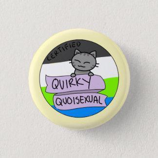 Quirky Quoisexual 3 Cm Round Badge