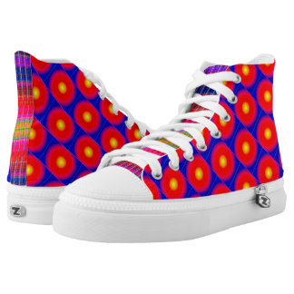 Quirky Script High Tops