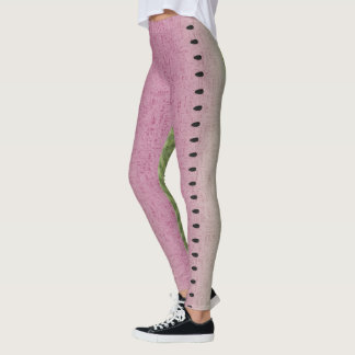 Quirky Watermelon Seed Leggings