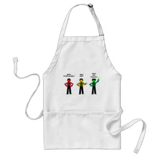 Quit Complaining And Just Keep On Smiling 3 Standard Apron