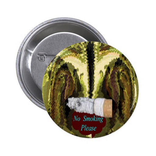 QUIT NOW -  Smoking is injurious to health Pinback Button