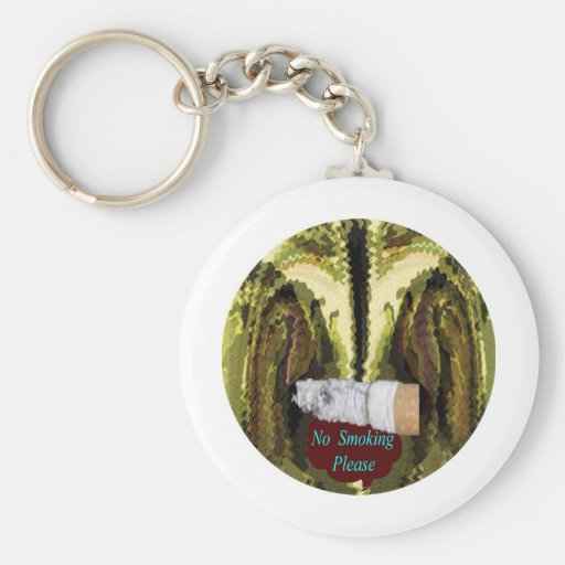 QUIT NOW -  Smoking is injurious to health Key Chains