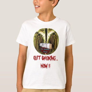 QUIT NOW -  Smoking is injurious to health T Shirt